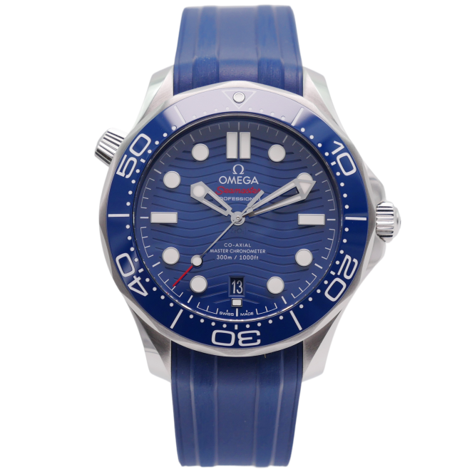Seamaster Diver 300M Co-Axial Master Chronometer Stahl