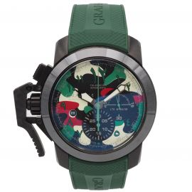 Chronofighter Oversize Stahl