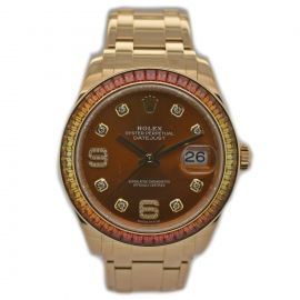 Datejust Gelbgold Pearlmaster
