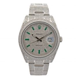 Datejust 41 Iced Out