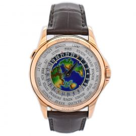 World Time Cloisonne Enamel