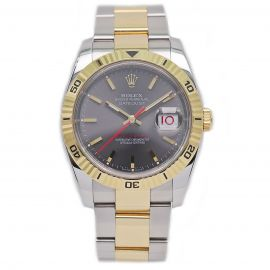 Datejust Turn-O-Graph Stahl / Gold