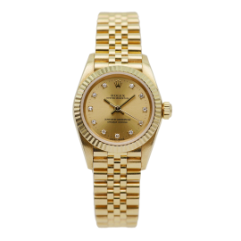 Oyster Perpetual Lady Gelbgold