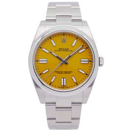Oyster Perpetual 41 Yellow