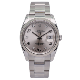 Oyster Perpetual Date Stahl